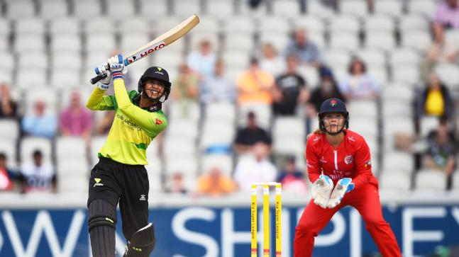 Smriti Mandhana smashes 60 ball hundred, takes Western Storm to victory