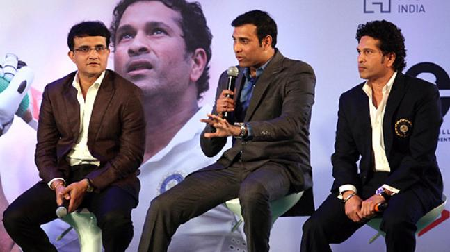 Cricket Advisory Committee members Sourav Ganguly, VVS Laxman and Sachin Tendulkar file photo (Courtesy: PTI)