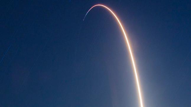 Falcon 9 launches Indonesian communication satellite into orbit