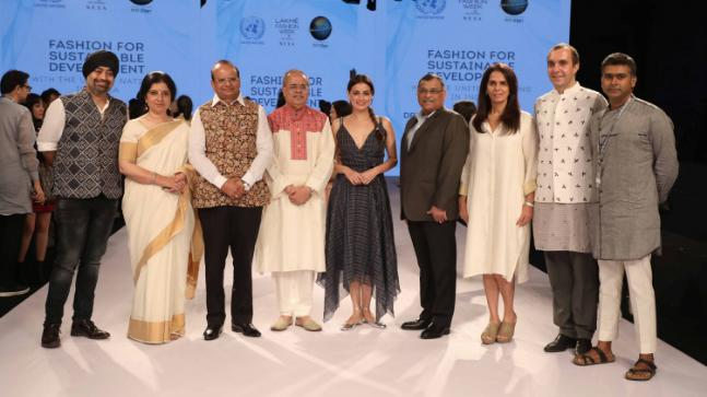 The Panelists at the Fashion for Sustainable Development