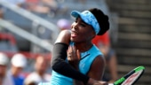 Rogers Cup: Venus Williams avoids upset, rain interrupts Sharapova's game
