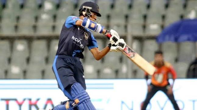 Yashasvi Jaiswal scored a 114 off 128 deliveries to help India U-19 beat Sri Lanka. (@SForg1 Photo)
