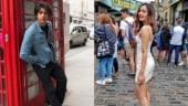 Ahaan Panday and Manushi Chillar Photo: Instagram/ahaanpandayy; Instagram/manushi_chhillar
