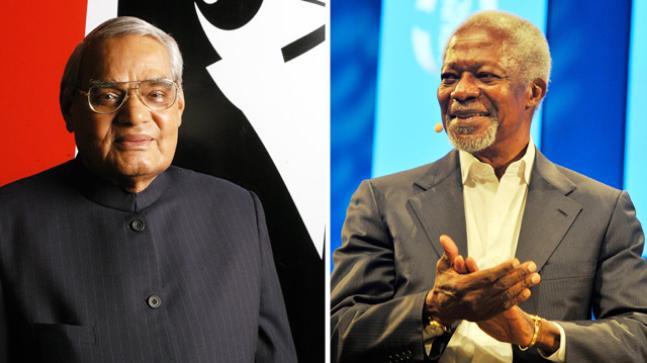 Kofi Annan,Atal Bihari Vajpayee: Leaders who shared the same goal of peace