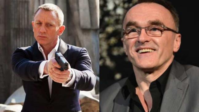 Danny Boyle and Daniel Craig