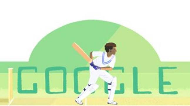 Google Doodle Celebrates Indian Cricketer Dilip Sardesai Who