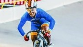 17-year-old Esow Alben creates history by winning India's first cycling World Cup medal