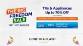 Flipkart Big Freedom Sale starts from Aug 10: Top deals, offers and discounts announced