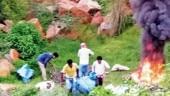Waste burning at Aravalli hills even after Delhi garbage crisis