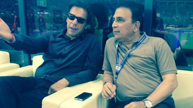 Sunil Gavaskar turns down invite for Imran Khan's oath taking ceremony