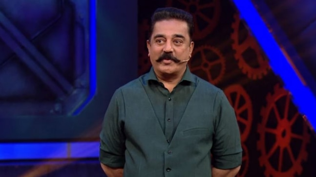 Bigg boss tamil kamal haasan in trouble for portraying jayalalithaa kamal haasan bigg boss tamil thecheapjerseys Gallery