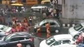 After vandalising in Delhi, Kanwariyas smash car in Muzaffarnagar