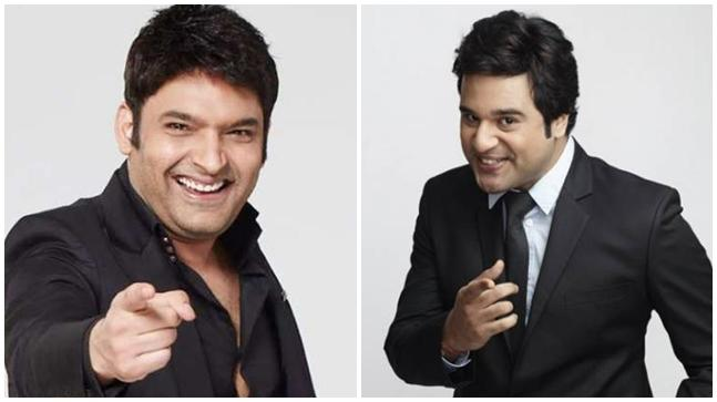 Kapil Sharma and Krushna Abhishek.