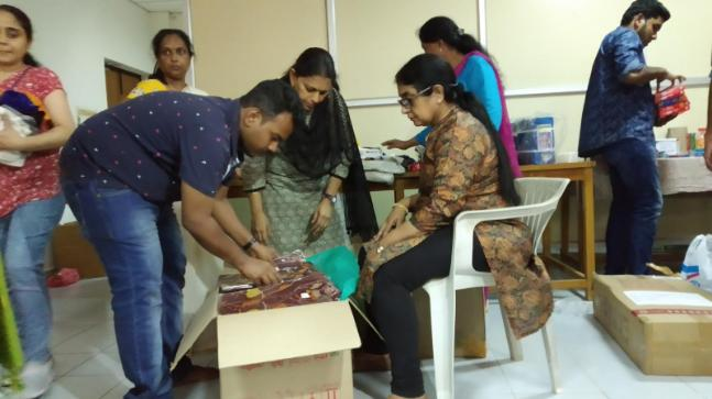The group is functioning as the eyes and ears of the rescue team in the flood-ravaged state of Kerala.