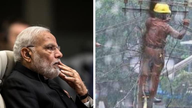 Kerala floods: Former IPS officer uses fake picture to target PM Modi