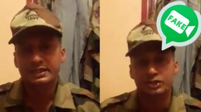 An impostor wearing Army combat uniform in a video has been spreading disinformation about rescue and relief efforts in Kerala.