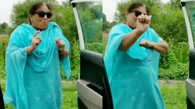 Vadodara aunty's kiki challenge video goes viral