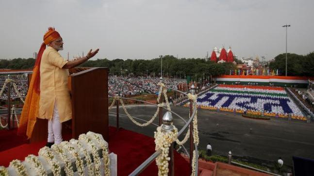 PM Narendra Modi Independence Day speech