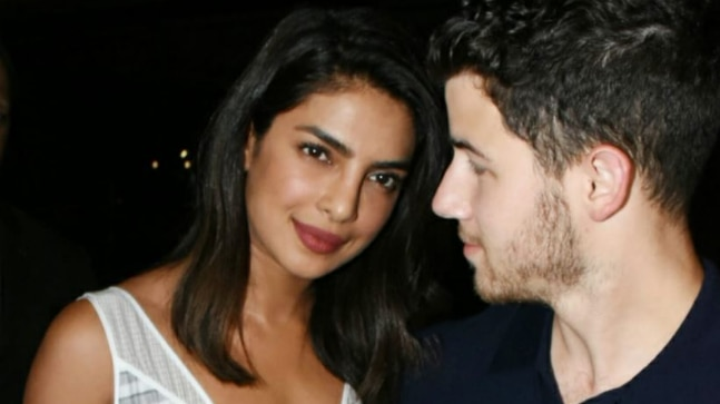 Priyanka Chopra and Nick Jonas Celebrate Engagement In Mumbai