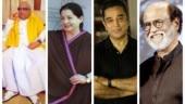 Karunanidhi, Jayalalithaa, Kamal Haasan and Rajinikanth