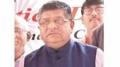 Law minister Ravi Shankar Prasad. (Photo: Hardik Chhabra)