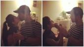 Newly married Rubina Dilaik locks lips with husband Abhinav Shukla on birthday; watch video