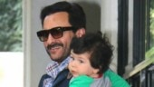 Viral video: Taimur copies Saif Ali Khan and waves at the paparazzi