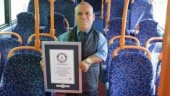 The world's shortest bus driver is now a part of Guinness World Records