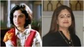 Ayesha Jhulka in Pehla Nasha (L) and now
