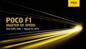 Xiaomi Poco F1 India launch on August 22: Here's everything to expect