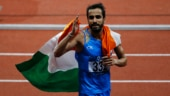 Manjit Singh won a gold medal in the men's 800m race in the Asian Games (Reuters Photo)