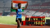 Jinson Johnson clocked 3:44.72 to win gold in 1500m at the Asian Games (Reuters Photo)