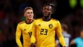 Michy Batshuayi's brace helped Belgium beat Scotland 4-0 (Reuters Photo)