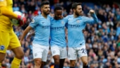 Raheem Sterling stars as Manchester City ease past Brighton in Premier League