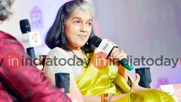 Ratna Pathak Shah at the India Today Woman Summit 2018. Photo: Rajwant Rawat