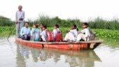 These kids in Delhi have to take a boat to school