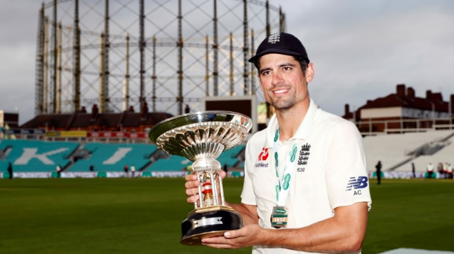 "Alastair Cook said the week has been the most amazing one, ""one you couldn't have scripted"". (Reuters Photo)"