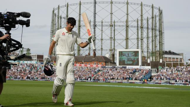 Alastair Cook has played 159 consecutive Test matches for England