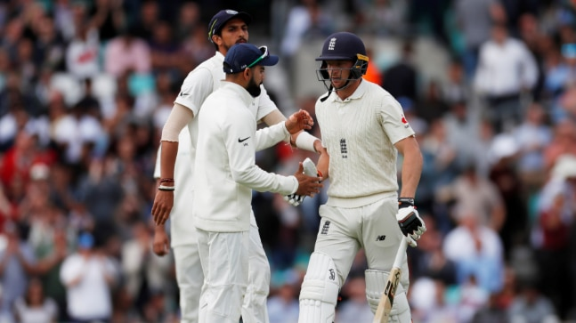 Jos Buttler helped England reach a commanding position in the fifth Test with a a 133-ball 89.