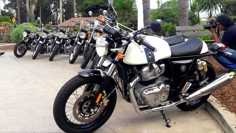 The Interceptor 650 and the Continental GT 650 have been priced starting USD 5,799 (Rs 4.21 lakh) and USD 5,999 (Rs 4.36 lakh).