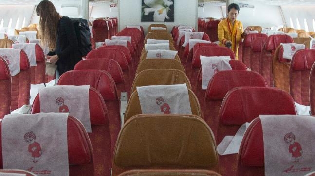 Drunk man urinates in the passenger seat of a woman in flight from Air India