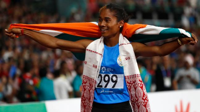 Hima Das was appointed as the Youth Ambassador of UNICEF India on Children's Day