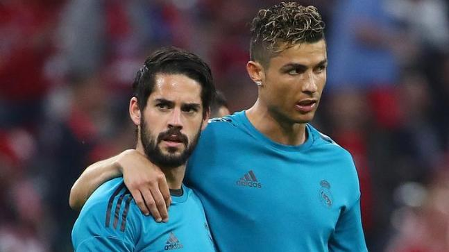 Image result for isco and ronaldo