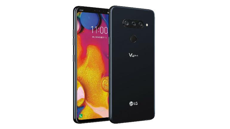 Yes, the LG V40 really has five cameras