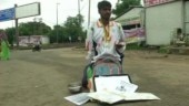 Manmohan Singh Lodhi was promised a job by the Madhya Pradesh state government, but has been forced to beg on the streets of Bhopal.