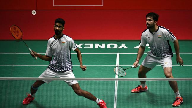 Manu Attri and B Sumeeth Reddy pulled off a major upset at Japan Open 2018. (Getty Images)