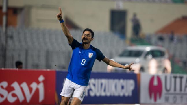 SAFF Cup: Manvir Singh scored twice in India's semi-final victory over Pakistan. (AIFF Photo)