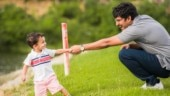 Nani playing with son Arjun on Devadas set is too adorable for words. See pic