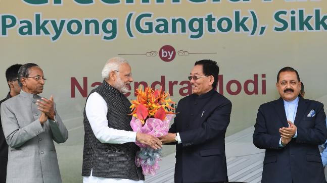 PM Modi inaugurates Pakyong Airport in Sikkim