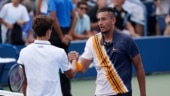 US Open: Nick Kyrgios came from a set and three games down to beat Pierre-Hugues Herbert after the chair umpire's pep talk. (Reuters Photo)